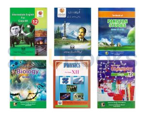 Federal Board XII (2nd Year) Pre Medical Course Books - Set of 6
