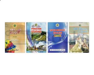 Sindh Board XII (2nd Year) Commerce Course Books - Set of 4